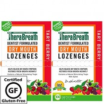 TheraBreath Dry Mouth Lozenges, Tart Berry Flavor, 200 Lozenges