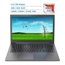 Lenovo 15.6 2019 Newest Laptop Notebook Computer, AMD A6-9225/A9-9425, 4GB/8GB/16GB RAM, 128GB/256GB/512GB SSD, 500GB/1TB HDD, Bluetooth, Webcam, HDMI, Radeon R4/R5, DVD-RW, Wi-Fi, USB 3.0, Win 10