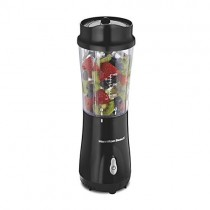 Hamilton Beach Personal Smoothie Blender with 14 oz Travel Cup and Lid, Matte Black 51101AV