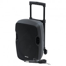 Gemini AS-TOGO Series AS-10TOGO Professional Audio Bluetooth 10-inch Battery Powered Portable PA Loudspeaker with 300W Class AB Amplifier