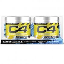C4 Original Pre Workout Powder ICY Blue Razz | Sugar Free Preworkout Energy Supplement for Men & Women | 150mg Caffeine + beta Alanine + Creatine | 70 Servings