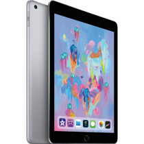 "Apple 9.7"" iPad (Early 2018, 32GB, Wi-Fi Only, Space Gray) MR7F2LL/A,Gray"