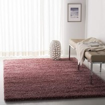 Safavieh California Premium Shag Collection SG151-3737 Rose Area Rug (4' x 6')