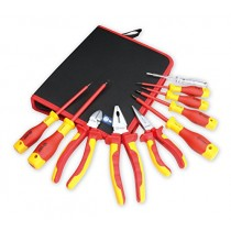 BOOHER 0200101 10-Piece 1000V Insulated Electrician's Tool Set