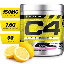 Cellucor - C4 Fitness Training Pre-Workout Supplement for Men and Women - Enhance Energy and Focus with Creatine Nitrate and Vitamin B12, Pink Lemonade, 60 Servings