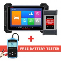 Autel Maxisys Pro MK908P Automotive Diagnostic Scanner with ECU Coding and J2534 Reprogramming (Same Function as Maxisys Elite,Upgraded Version of Maxisys MS908P Pro)