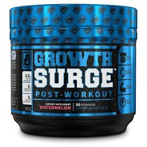 Growth Surge Post Workout Muscle Builder with Creatine, Betaine, L-Carnitine L-Tartrate - Daily Muscle Building & Recovery Supplement - 30 Servings, Watermelon Flavor