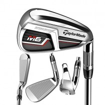 TaylorMade Golf M6 Iron Set, 5-PW, AW, SW, Right Hand, Regular Flex Shaft: KBS Max 85
