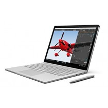 "Microsoft Surface Book SX3-00001 Laptop (Windows 10, Intel Core i5, 13.5"" LCD Screen, Storage: 256 GB, RAM: 8 GB) Silver"