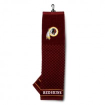 Team Golf NFL Washington Redskins Embroidered Golf Towel, Checkered Scrubber Design, Embroidered Logo