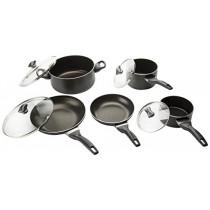 Farberware 21806 Cookware Set, Black