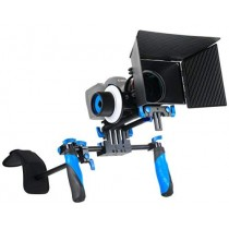 Morros Professional DSLR Rig with Follow Focus and Matte Box for All DSLR Cameras and Video Camcorders