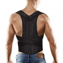 "Back Posture Corrector for Women and Men, Back Braces for Upper and Lower Back Pain Relief, Adjustable and Fully Back Support Improve Back Posture and Provide Lumbar Support (S, 23.5""-30"" Waist)"