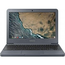 "Samsung Chromebook 3 XE501C13-K01US, Intel Dual-Core Celeron N3060, 11.6"" HD, 2GB DDR3, 16GB eMMC, Night Charcoal"