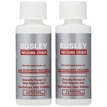 Bosley Hair Regrowth Treatment Regular Strength for Women, 2 Count