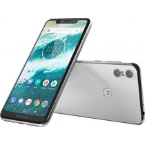 "Motorola Moto One with Android One (64 GB) 5.9"" Max Vision HD+, Dual Rear Camera, Dual SIM GSM Unlocked Smartphone (AT&T/T-Mobile/MetroPCS/StraighTalk)- (International Version)"