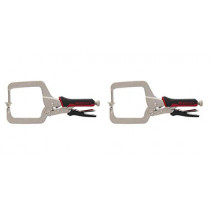 Milescraft 4004 Pocketclamp - Right Angle Clamp for Pocket Hole Joinery (Тwo Рack)