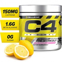 Cellucor C4 Original Pre Workout Powder Energy Drink w/Creatine, Nitric Oxide & Beta Alanine, Pink Lemonade, 30 Servings