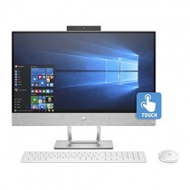 "HP Pavilion 24 Desktop 500 GB SSD Win 10 PRO (Intel Core i7-8700K Processor 3.70GHz Turbo to 4.70GHz, 16 GB RAM, 500 GB SSD, 24"" Touchscreen FullHD, Win 10 PRO) PC Computer All-in-One"