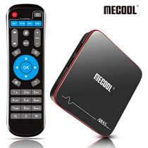 Android TV Box, MECOOL Android Box 2GB RAM + 16GB ROM Quad Core DDR3 Cortex-A53, Smart TV Box 3D 4K HDR Ultra HD Support HDMI/H.265/2.4G WiFi