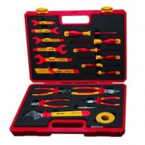 BOOHER 0200309 19-Piece 1000V Insulated Tools Set