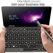 "[Platinum Edition] One Netbook One Mix 2S Yoga [CPU: Intel 8th CoRE I7-8500Y] 7"" Pocket Mini Laptop Ultrabook Windows 10 Portable UMPC Laptop Touch Screen Tablet PC 8GB/512GB+2048 Level Stylus Pen"