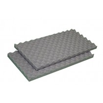 "IZO All Supply 2""x 24""x18"" Egg Crate Soundproofing Foam Acoustic Panel Great for Studio Foam and Packing Cushion Foam"