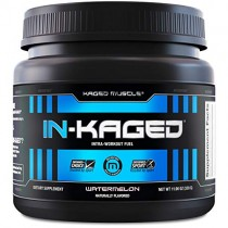 Intra workout BCAA Powder, Kaged Muscle IN-KAGED Intra Workout Drink, Amino Energy Drink for Weights & Cardio; Intra Workout Powder to Boost Performance & Endurance While You Exercise; Watermelon