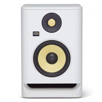 "KRK RP5 Rokit 5 G4 Professional Bi-Amp 5"" Powered Studio Monitor, White Noise"
