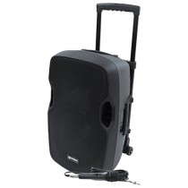 Gemini AS-TOGO Series AS-12TOGO Professional Audio Bluetooth 12-inch Battery Powered Portable PA Loudspeaker with 400W Class AB Amplifier