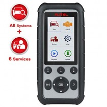 Autel MaxiDiag MD806 Pro OBD2 Scanner Diagnostic Scan Tool with All Systems Diagnosis, Auto VIN, Oil Reset, EPB, SAS, BMS, DPF, Throttle Services Adjust A/F Functions (Same Functions As MD808 Pro)