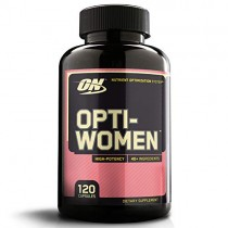 OPTIMUM NUTRITION Opti-Women, Womens Daily Multivitamin Supplement with Iron, Capsules, 120 Count