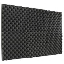 "New Level 6 Pack- Acoustic Panels Studio Foam Egg Crate 2"" X 12"" X 12"""