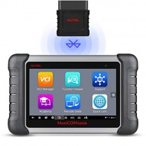 Autel MaxiCOM MK808BT OBD2 Scan Tool Wireless Bluetooth&Full System Car Diagnostic Scanner with IMMO/ABS Bleed/EPB/BMS/SAS/DPF/TPMS/Oil Reset, Advanced Version of MK808