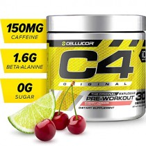 Cellucor C4 Original Pre Workout Powder Energy Drink w/Creatine, Nitric Oxide & Beta Alanine, Cherry Limeade, 30 Servings