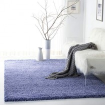 "Safavieh California Premium Shag Collection SG151-7171 Periwinkle Area Rug (5'3"" x 7'6"")"