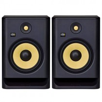 "KRK RP8 Rokit 8 G4 Professional Bi-Amp 8"" Powered Studio Monitor Pair, Black"