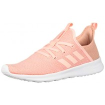 adidas Women's Cloudfoam Pure, Clear Orange/Solar red, 8 M US