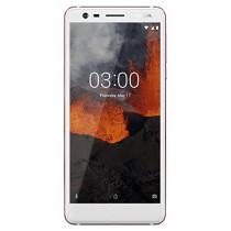Nokia 3.1 TA-1049 16 GB Unlocked Dual SIM Smartphone w/ 13MP Camera, US Warranty - White