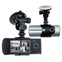 "Awolf Dual Lens Dash Cam,2.7"" Car DVR Vehicle Camera Video Recorder Car Camera with GPS Module G-Sensor"