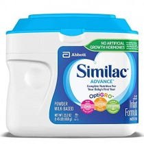 Similac Advance Baby Formula-Powder-23.2 Ounces-6 Pack