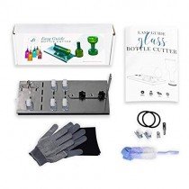 Bottle Cutter Kit & Tool Bundle - 3,5,& 7 Wheel Adjustable Device-DIY Machine Easily Cuts All Types, Shapes & Sizes of Bottles & Jars; Even Small! Make Glasses,Crafts & Gifts. Makes a Great Gift!