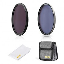 NiSi 82mm Circular Filter Waterfall Kit, Including Ti Enhence CPL, ND64(6 stops)+CPL and Filter Pouch