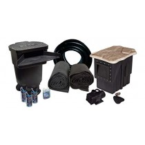 """HALF OFF PONDS - LH0-5200 Complete PRO Water Garden & Pond Kit with 20' x 30' EPDM Liner, 22"""" Waterfall, Skimmer and Submersible Pump"""