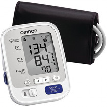 Omron 5 Series Upper Arm Blood Pressure Monitor; 2-User, 100-Reading Memory, Soft Wide-Range Cuff, 1 Dr. Recommended by Omron