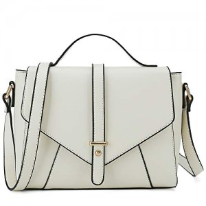 Ladies Designer Purses Cross Body Handbags Trendy Bags for Women Shoulder Bags (Beige)