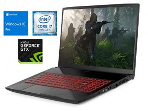 "MSI GF75 Gaming Laptop, 17.3"" FHD Display, Intel Core i7-9750H Upto 4.5GHz, 64GB RAM, 1TB NVMe SSD + 1TB HDD, NVIDIA GeForce GTX 1660 Ti, HDMI, Wi-Fi, Bluetooth, Windows 10 Pro"