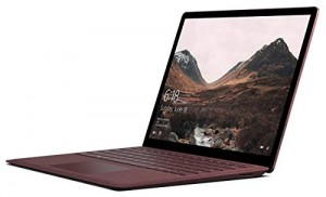 "Microsoft Surface Laptop (1st Gen) DAJ-00041 Laptop (Windows 10 S, Intel Core i7, 13.5"" LCD Screen, Storage: 256 GB, RAM: 8 GB) Burgundy"
