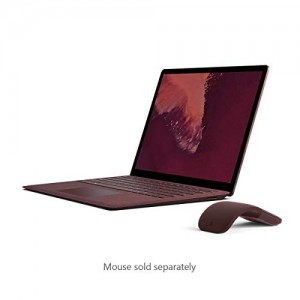 "Microsoft Surface Laptop 2 LQQ-00024 Laptop (Windows 10 Home, Intel Core i7, 13.5"" LCD Screen, Storage: 256 GB, RAM: 8 GB) Burgundy"